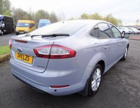 USED 2011 11 FORD MONDEO 2.0 ZETEC 5d 144 BHP 3 Months  National Warranty - Vehicle will be MOT'd for New Owner