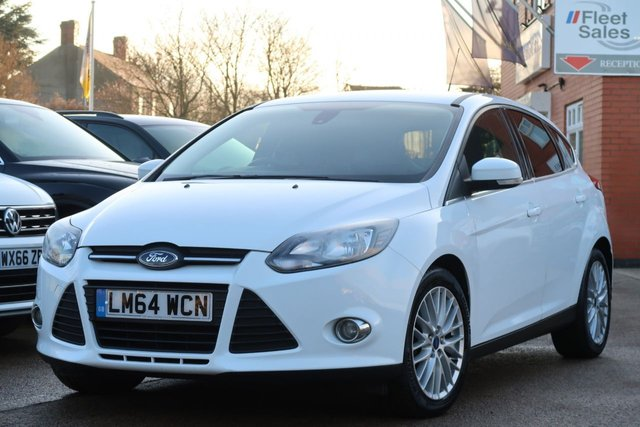 USED 2014 64 FORD FOCUS 1.6 ZETEC TDCI 5d 113 BHP FINANCE + NATIONWIDE DELIVERY AVAILABLE