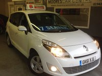 USED 2011 61 RENAULT GRAND SCENIC 1.5 DCI  DYNAMIQUE TOMTOM **  7 SEATER  **  Pearl White