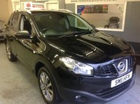 USED 2011 11 NISSAN QASHQAI 1.5 DCI  TEKNA  **   SATNAV  **    Glass Roof .....Leather