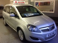 USED 2012 61 VAUXHALL ZAFIRA 1.6 EXCITE  **  7 SEATER  **