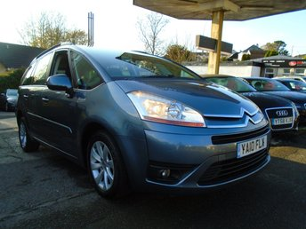 2010 CITROEN C4 GRAND PICASSO 1.6 VTR PLUS HDI 5d 107 BHP £2295.00