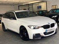 USED 2015 65 BMW 3 SERIES 2.0 320D XDRIVE M SPORT TOURING 5d 188 BHP ++M PERF KIT,CAMERA, SAT/NAV++