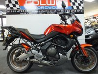 USED 2007 57 KAWASAKI KLE 650 VERSYS 649cc KLE 650 A7F  FULL LUGGAGE!!!!