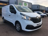 USED 2016 16 RENAULT TRAFIC 1.6 SL27 BUSINESS PLUS ENERGY DCI L1 H1 120 BHP A/C, BLUETOOTH, P/SENSORS, E/W, FINANCE ARRANGED & 6 MONTHS WARRANTY. Renault main agent service carried out on 10/2019 @ 39.000 miles, Only 39,084 Miles, A/C, E/W, Bluetooth, media connectivity, DAB Radio, rear parking sensors, colour coded, Drivers airbag, factory fitted bulk head, Side loading door, 1 Owner, remote Central Locking, Drivers Airbag, Steering Column Radio Control, Side Loading Door, Barn Rear Doors, spare key, 6 months premium Autoguard warranty & finance arranged on site