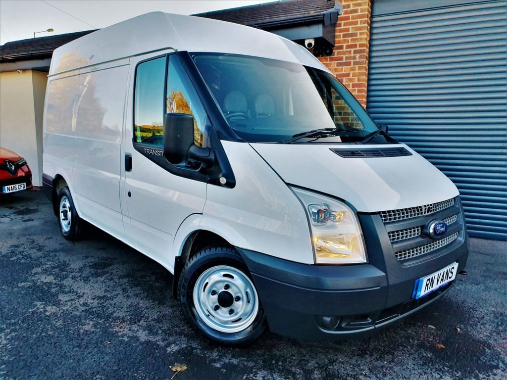 USED 2013 13 FORD TRANSIT 2.2 280 99 BHP *** RACKING - SENSORS - A/C ***