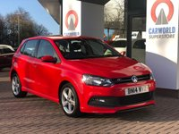 USED 2014 14 VOLKSWAGEN POLO 1.2 R-LINE STYLE AC 5d 69 BHP ALLOYS | AIR CON |