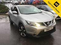 2016 NISSAN QASHQAI 1.6 N-CONNECTA DCI XTRONIC 5d 128 BHP IN METALLIC SILVER WITH 1 OWNER, FULL SERVICE HISTORY AND A GREAT SPEC £11799.00