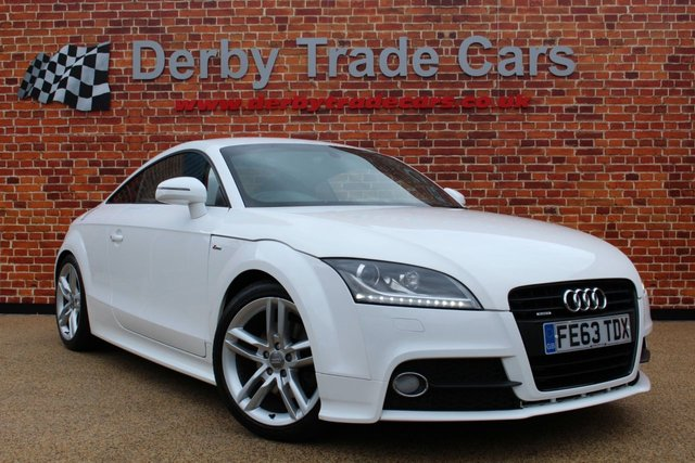 AUDI TT at Derby Trade Cars