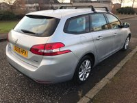 USED 2016 65 PEUGEOT 308 1.6 BlueHDi Active (s/s) 5dr 1 Owner.Free Tax.F/D/S/H.2Keys