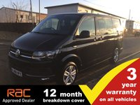 USED 2018 68 VOLKSWAGEN TRANSPORTER KOMBI T32 SWB Highline 204ps DSG AUTO (Disco Nav, Cab Carpet, Comfort Dash, 2+1 Rear Seats)