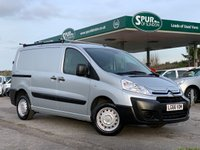 USED 2016 66 CITROEN DISPATCH 1.6 1000 L1H1 ENTERPRISE HDI 89 BHP Only 32,000 Miles, Air Con, Roof Rack, SAT NAV, 3 Seats.