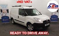 2014 FIAT DOBLO 1.3 16V MULTIJET 90 BHP  ++NO VAT TO PAY++  PLY-LINED, Roof Bars, READY TO GO £3980.00
