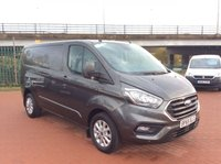 2018 FORD TRANSIT CUSTOM 2.0 300 LIMITED P/V L1 H1 130 BHP EURO 6 (BP68OLG) £14800.00