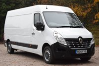 USED 2016 16 RENAULT MASTER 2.3 LM35 BUSINESS DCI S/R P/V 110 BHP