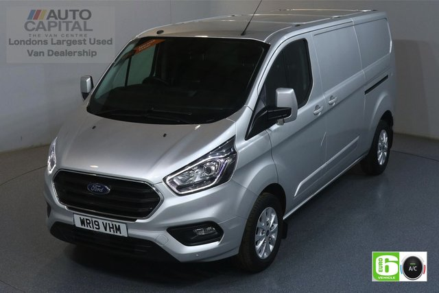 2019 19 FORD TRANSIT CUSTOM 2.0 300 LIMITED L2 H1 129 BHP EURO 6 ENGINE AIR CON, PARKING SENSORS, ALLOY WHEEL, HEATED FRONT SEATS