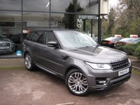 USED 2013 63 LAND ROVER RANGE ROVER SPORT 3.0 SDV6 HSE 5d 288 BHP