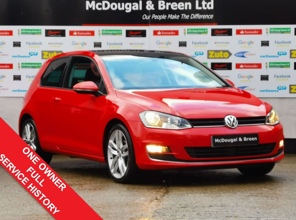 USED 2016 66 VOLKSWAGEN GOLF 1.6 GT EDITION TDI BLUEMOTION TECHNOLOGY 3d 109 BHP