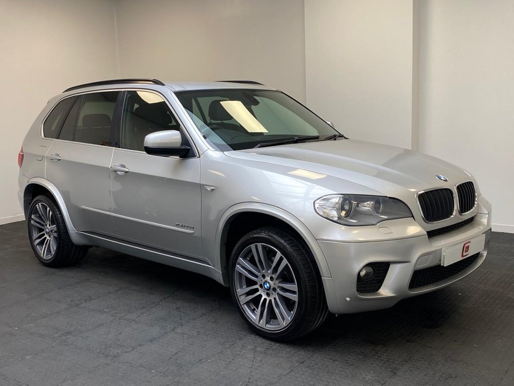 USED 2011 61 BMW X5 3.0 XDRIVE30D M SPORT 5d 241 BHP ONLY 2 FAMILY OWNERS FROM NEW + SERVICE HISTORY + SAT NAV