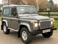 USED 2009 58 LAND ROVER DEFENDER 2.4 90 XS STATION WAGON 3d 122 BHP
