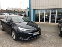 2016 TOYOTA AVENSIS 1.6 D-4D BUSINESS EDITION 4d 110 BHP £7990.00