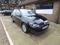 USED 2013 13 VOLKSWAGEN GOLF 1.6 SE TDI BLUEMOTION TECHNOLOGY 5d 103 BHP * FULL SERVICE HISTORY * 5 STAMPS * DAB RADIO * ZERO ROAD TAX * FINANCE FROM £186.59 P/M *