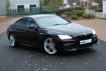 2015 BMW 6 SERIES 3.0 640D M SPORT GRAN COUPE 4d 309 BHP £18495.00