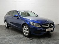 USED 2015 65 MERCEDES-BENZ C CLASS 2.1 C220 D SE EXECUTIVE 5d 170 BHP REVERSE CAMERA + 3 SERVICES + 1 OWNER + FULL LEATHER + SAT NAV