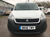 USED 2016 16 PEUGEOT PARTNER 1.6 HDI PROFESSIONAL 90 BHP 625KG **GREAT SPEC**