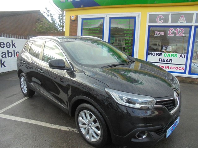 USED 2016 65 RENAULT KADJAR 1.5 DYNAMIQUE S NAV DCI 5d 110 BHP **JUST ARRIVED**SAT NAV**