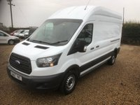 USED 2017 67 FORD TRANSIT 2.0 350 L3 H3 P/V DRW 129 BHP LOW MILES 28000 * EURO 6 * ONE OWNER FROM NEW