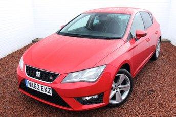 2013 SEAT LEON 1.4 TSI FR 5d 140 BHP £7999.00
