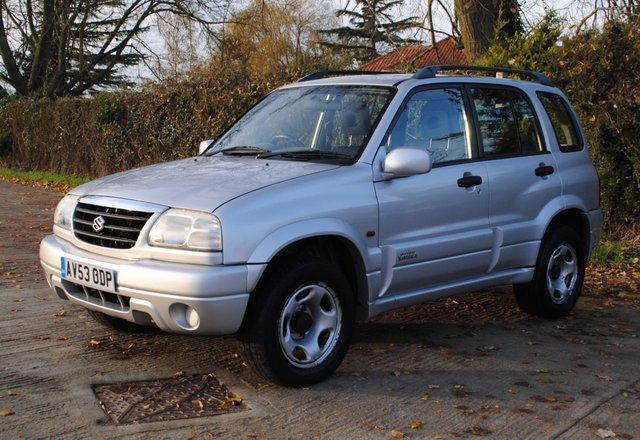 2003 53 SUZUKI GRAND VITARA 2.0 16V 5d 127 BHP