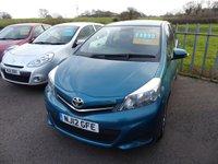 2012 TOYOTA YARIS 1.3 VVT-I TR 5d 98 BHP £4995.00