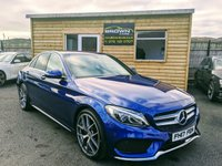 USED 2017 17 MERCEDES-BENZ C CLASS 2.1 C 220 D AMG LINE 4d 170 BHP **** Finance Available****