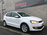 2013 VOLKSWAGEN POLO 1.2 MATCH EDITION 5d 59 BHP £5995.00