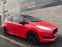 2014 FORD FIESTA 1.0 ZETEC S RED EDITION 3d 139 BHP £7495.00