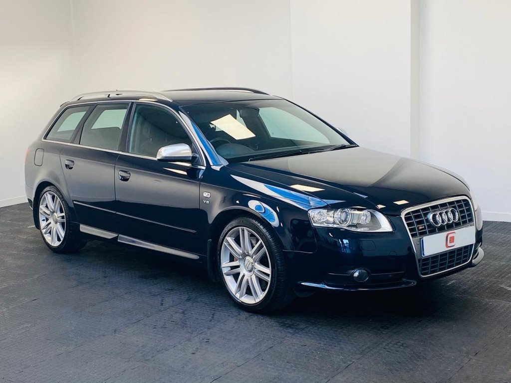USED 2008 08 AUDI S4 AVANT 4.2 S4 QUATTRO 5d 339 BHP VERY LOW MILES + AUDI SERVICE HISTORY + SAT NAV + ONLY 2 OWNERS