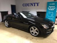 USED 2013 63 MERCEDES-BENZ SLK 2.1 SLK250 CDI BLUEEFFICIENCY AMG SPORT 2d 204 BHP * TWO OWNERS WITH HISTORY *