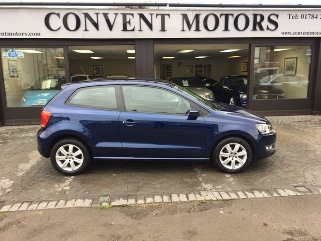USED 2010 60 VOLKSWAGEN POLO 1.4 SE 3d 85 BHP