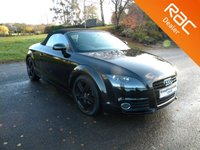 USED 2011 61 AUDI TT 1.8 TFSI 2d 160 BHP Sporty Little Convertible, Alloy Wheels, Air Con, Wind Deflector