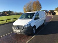 2015 MERCEDES-BENZ VITO 2.1 114 LWB BLUETEC 136 BHP SOLD