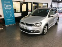 USED 2017 66 VOLKSWAGEN POLO 1.0 MATCH EDITION 3d 60 BHP This Polo is finished in Reflex Silver metallic with Grey cloth seats. It is fitted with front and rear park sensors, power steering, full size spare,  remote locking, electric windows and mirrors, cruise control,  Air Conditioning, start/stop technology, Alloy wheels, DAB, CD Stereo with Aux & USB ports and more. It has had one private owner from new and comes with a full VW service history consisting of two service stamps.  We will supply the car with 12 months Mot and a service.