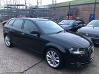 USED 2010 60 AUDI A3 2.0 SPORTBACK TDI SPORT 5d 138 BHP **MOT 01/10/2020**FULL SERVICE HISTORY**£30 ROAD FUND**SUPERB CAR**