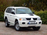 USED 2006 06 MITSUBISHI SHOGUN SPORT 2.5 CLASSIC TD COMMERCIAL LWB 114 BHP NEW MOT ON PURCHASE, LOW MILEAGE