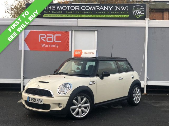 2010 59 MINI HATCH COOPER 1.6 COOPER S 3d 172 BHP