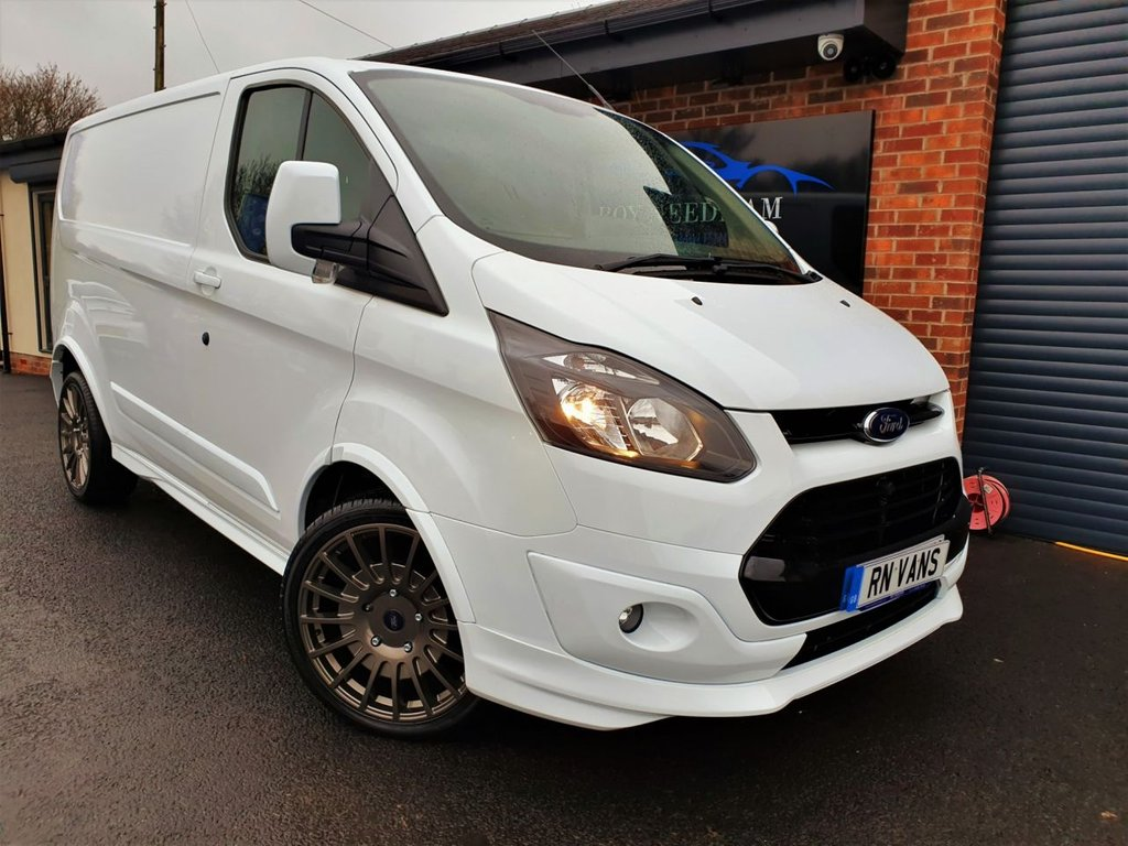USED 2013 63 FORD TRANSIT CUSTOM 2.2 310 L1 H1 P/V 100 BHP *** 1 OWNER - BODY KIT - AIR CONDITIONING ***