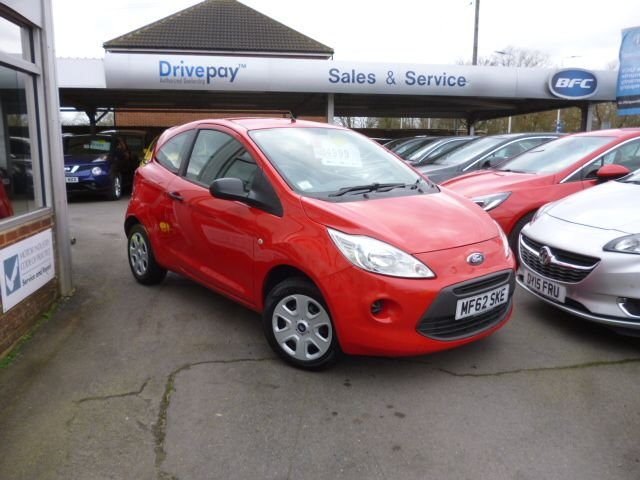 USED 2012 62 FORD KA 1.2 STUDIO 3d 69 BHP