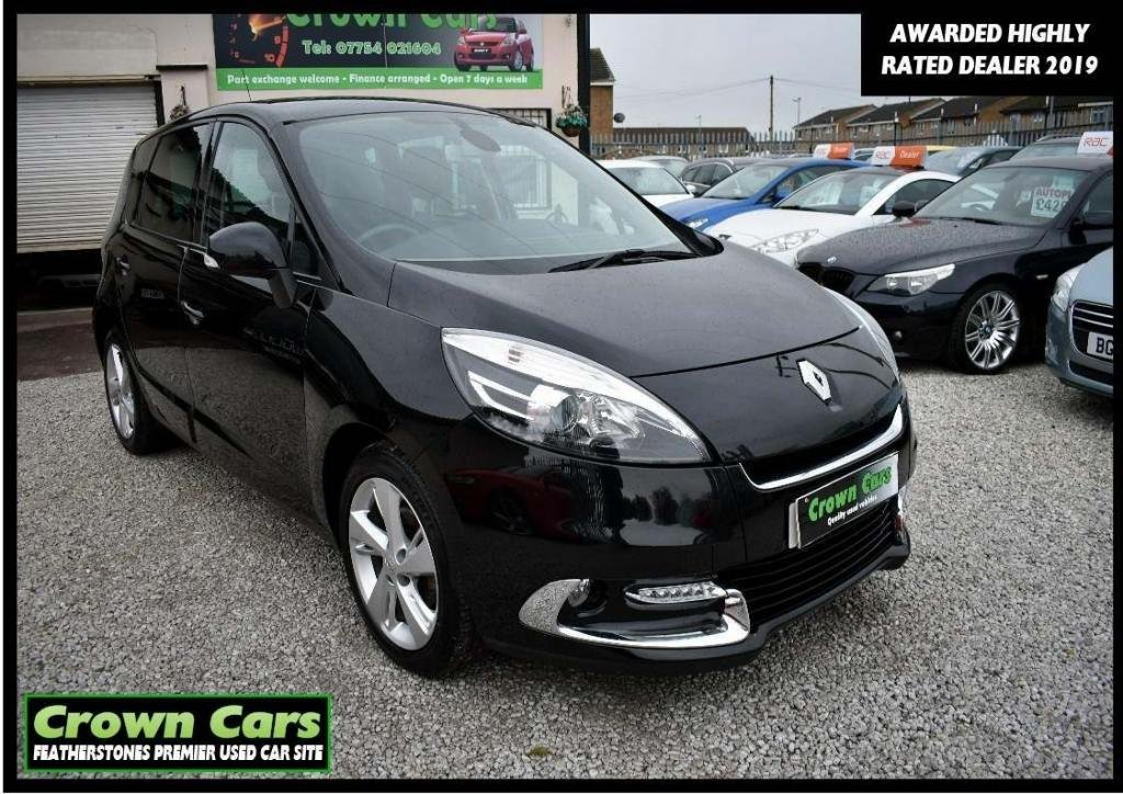 USED 2012 62 RENAULT SCENIC 1.5 dCi Dynamique Tom Tom 5dr 3 MONTH WARRANTY & PDI CHECKS