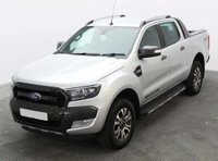 USED 2018 68 FORD RANGER 3.2 TDCi Wildtrak Double Cab Pickup Auto 4WD 4dr Economical Response to ULEZ